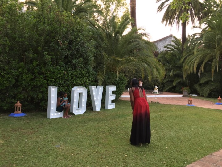 Giant love Marbella