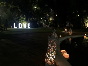 Love in lights for weddings Marbella