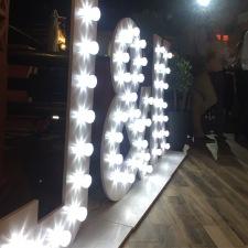 Alquiler letras de luces para boda Marbella, Malaga